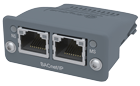 Kommunikationsmodul für BACnet/IP mit 2-Port-Switch
