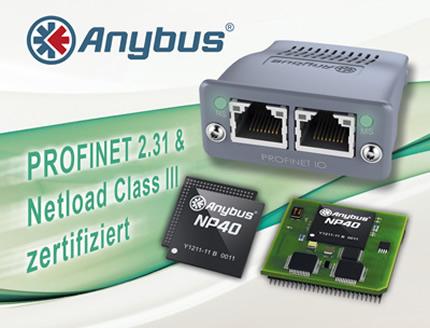 Zertifiziert für PROFINET 2.31 & Netload Class III
